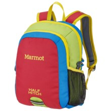 Marmot Half-Hitch Backpack (For Little Kids) in Fire/Green Lichen - Closeouts