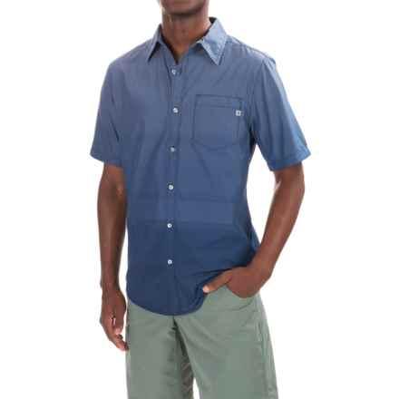 Marmot Hamilton Shirt - UPF 50, Short Sleeve (For Men) in Vintage Navy - Closeouts