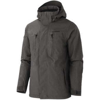 Marmot Hampton MemBrain® Jacket - Waterproof (For Men) in Slate Grey