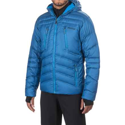 Marmot Hangtime Down Jacket - 700 Fill Power (For Men) in Blue Night - Closeouts