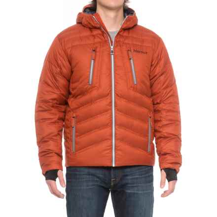 Marmot Hangtime Down Jacket - 700 Fill Power (For Men) in Mars Orange - Closeouts