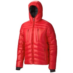 Marmot Hangtime Down Jacket - 700 Fill Power (For Men) in New Team Red