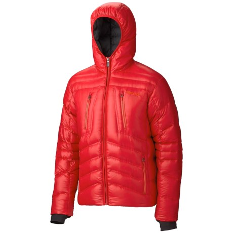 Marmot Hangtime Down Jacket - 700 Fill Power (For Men) in New Team Red