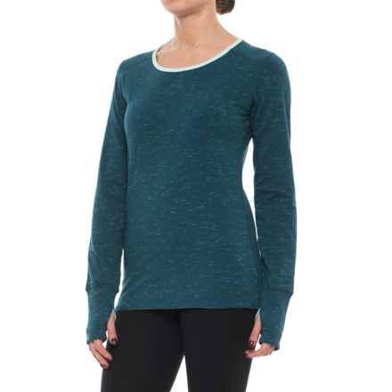 Marmot Hannah Reversible Shirt - Long Sleeve (For Women) in Denim/Blue Tint - Closeouts