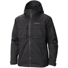 Marmot Hard Charger MemBrain® Jacket - Waterproof (For Men) in Black - Closeouts