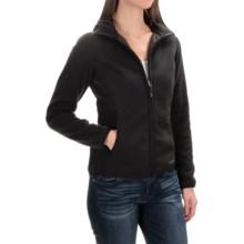 Marmot Harper Hooded Fleece Jacket (For Women) in Black - Closeouts