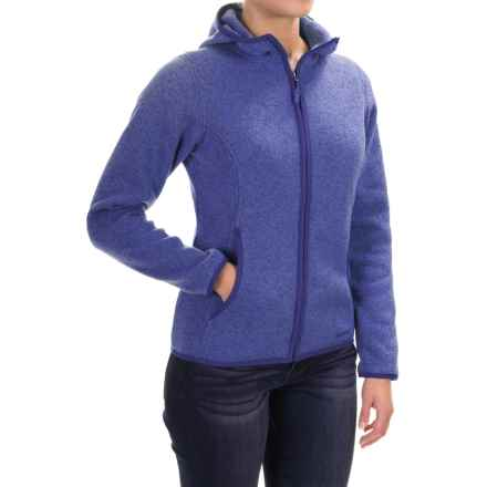 Marmot Harper Hooded Fleece Jacket (For Women) in Gemstone - Closeouts