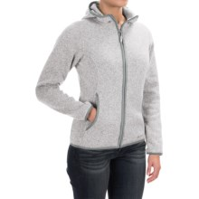 Marmot Harper Hooded Fleece Jacket (For Women) in Platinum - Closeouts
