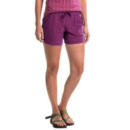Marmot Harper Shorts - UPF 50 (For Women) in Deep Plum - Closeouts