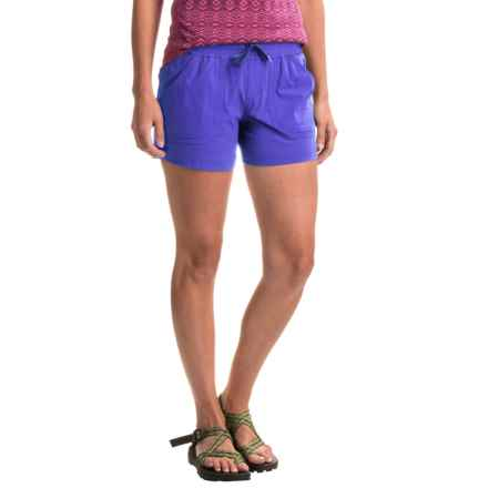 Marmot Harper Shorts - UPF 50 (For Women) in Spectrum Blue - Closeouts