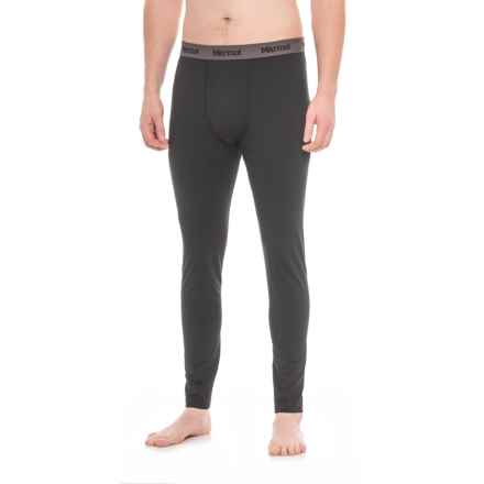 Marmot Harrier Base Layer Bottoms (For Men) in Black - Closeouts