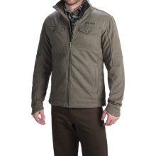 Marmot Hawkins Fleece Jacket - Full Zip (For Men) in Vintage Brown - Closeouts