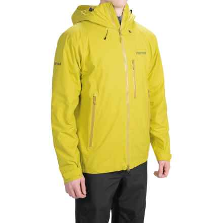 Marmot Headwall PrimaLoft® Jacket - Waterproof, Insulated (For Men) in Yellow Vapor - Closeouts