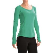 Marmot Helen Dri-Release® Shirt - UPF 30, Scoop Neck, Long Sleeve (For Women) in Gem Green - Closeouts