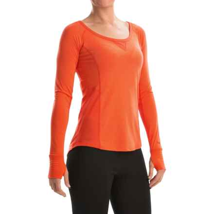 Marmot Helen Dri-Release® Shirt - UPF 30, Scoop Neck, Long Sleeve (For Women) in Kashmir - Closeouts
