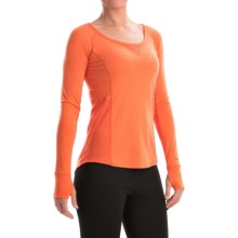 Marmot Helen Dri-Release® Shirt - UPF 30, Scoop Neck, Long Sleeve (For Women) in Orange Coral - Closeouts