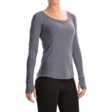 Marmot Helen Dri-Release® Shirt - UPF 30, Scoop Neck, Long Sleeve (For Women) in Steel Onyx - Closeouts