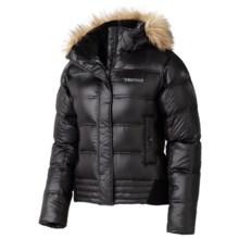 Marmot Helsinki Down Coat - 700 Fill Power, Removable Hood (For Women) in Black - Closeouts