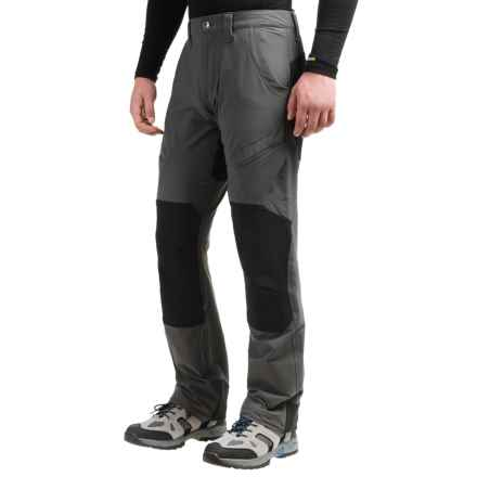 Marmot High Ridge Pants - UPF 50 (For Men) in Slate Grey/Black - Closeouts