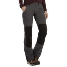 Marmot High Ridge Pants - UPF 50 (For Women) in Dark Steel/Black - Closeouts