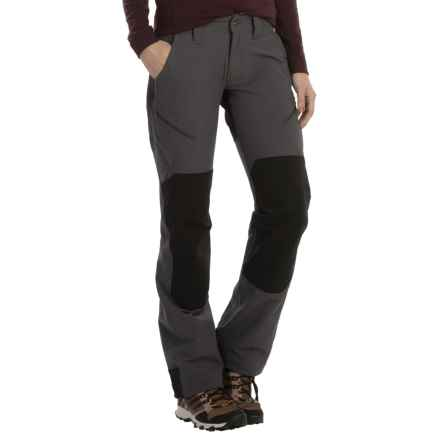 Marmot High Ridge Pants - UPF 50 (For Women) in Dark Steel/Black - Closeouts
