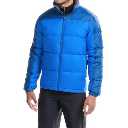 Marmot Highland Down Jacket - 700 Fill Power (For Men) in Cobalt Blue/Blue Night - Closeouts