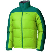 Marmot Highland Down Jacket - 700 Fill Power (For Men) in Green Envy/Gator - Closeouts