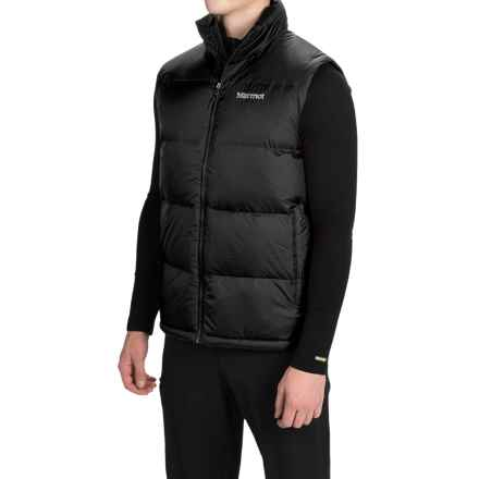 Marmot Highland Down Vest - 700 Fill Power (For Men) in Black - Closeouts