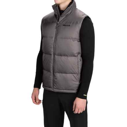 Marmot Highland Down Vest - 700 Fill Power (For Men) in Cinder - Closeouts