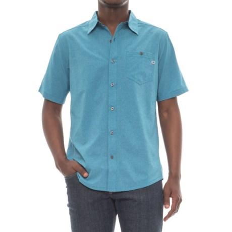 Marmot Homewood Shirt - UPF 20, Short Sleeve (For Men) in Slate Blue