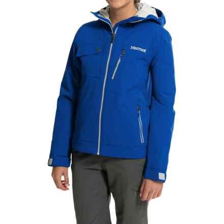 Marmot Horizon Ski Jacket - Waterproof, Insulated (For Women) in Gem Blue - Closeouts