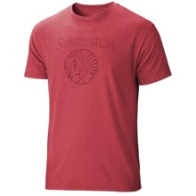 Marmot Horizon T-Shirt - Short Sleeve (For Men) in Red Heather - Closeouts