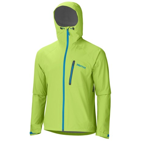 Marmot Hyper MemBrain® Strata Jacket - Waterproof (For Men) in Green Lime