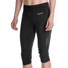 Marmot Impulse 3/4 Tights - UPF 30 (For Women) in Black - Closeouts