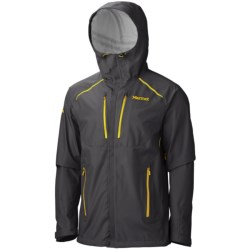 Marmot Interfuse Jacket - Waterproof (For Men) in Dark Granite