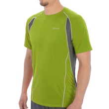 Marmot Interval Shirt - UPF 30, Short Sleeve (For Men) in Green Lichen - Closeouts