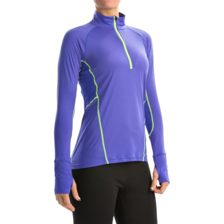 Marmot Interval Zip Neck Shirt UPF 30+, Long Sleeve (For Women)