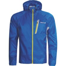 Marmot Ion Wind Hoodie Jacket (For Men) in Blue Ocean - Closeouts