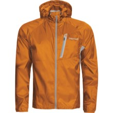 Marmot Ion Wind Hoodie Jacket (For Men) in Flash Orange - Closeouts