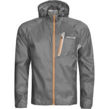 Marmot Ion Wind Hoodie Jacket (For Men) in Gargoyle - Closeouts