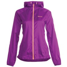 Marmot Ion Wind Hoodie Jacket (For Women) in Bright Berry - Closeouts