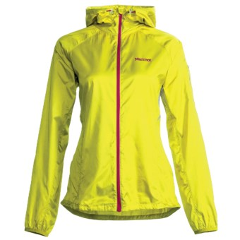 Marmot Ion Wind Hoodie Jacket (For Women) in Sulpher