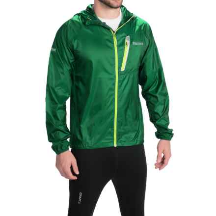 Marmot Ion Wind Jacket (For Men) in 4498 Rich Forest/ Slate Grey - Closeouts