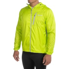 Marmot Ion Wind Jacket (For Men) in Green Lime/Grey - Closeouts