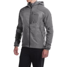 Marmot Isotherm Hooded Jacket - Insulated (For Men) in Cinder - Closeouts