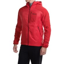 Marmot Isotherm Hooded Jacket - Insulated (For Men) in Team Red - Closeouts