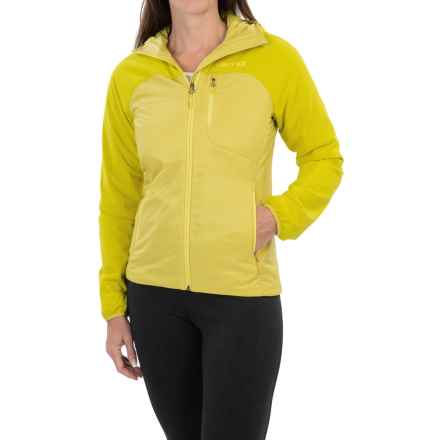 Marmot Isotherm Polartec® Alpha® Jacket - Insulated, Hooded, Full Zip (For Women) in Yellow Vapor - Closeouts