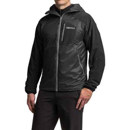 Marmot Isotherm Polartec® Hooded Jacket - Insulated (For Men) in Black - Closeouts