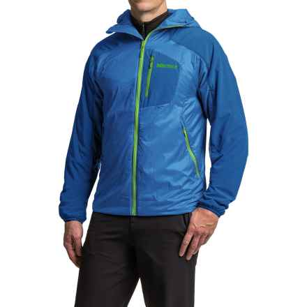 Marmot Isotherm Polartec® Hooded Jacket - Insulated (For Men) in Cobalt Blue - Closeouts