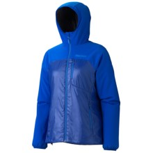 Marmot Isotherm Polartec® Hooded Jacket - Insulated (For Women) in Gem Blue - Closeouts
